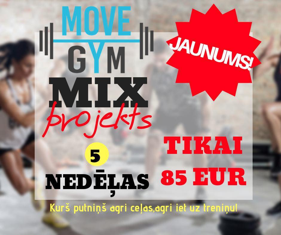 Move Gym MIX Projekts