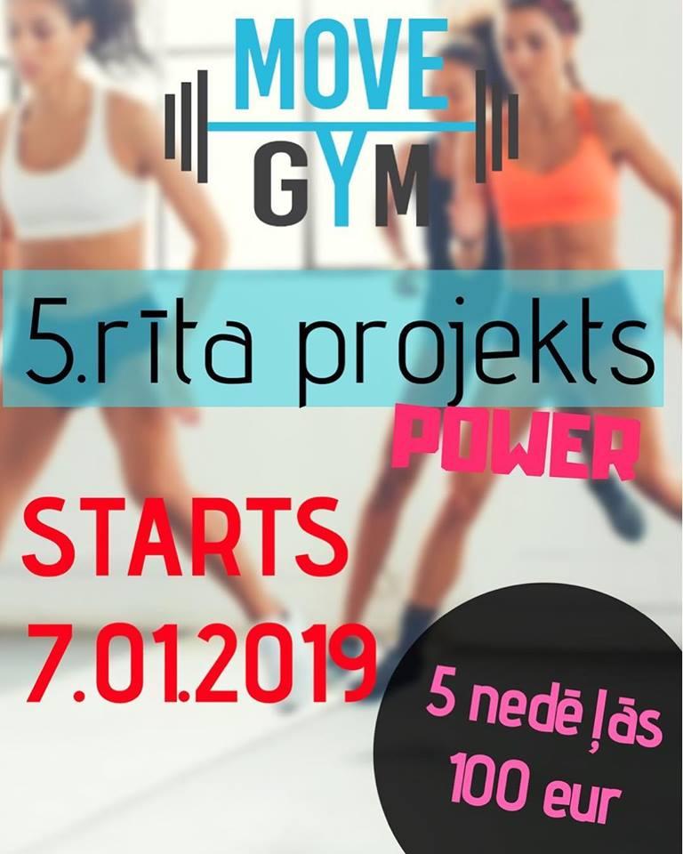 Move Gym💥 POWER rīta 💥 projekts ❗️❗️❗️
