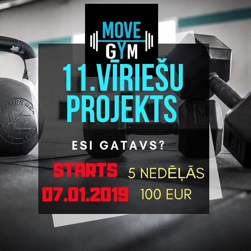 11. Vīriešu POWER Projekts.