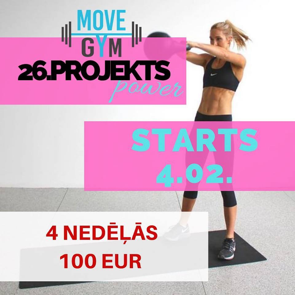 MOVE GYM 💥 26.projekts POWER‼️🔥