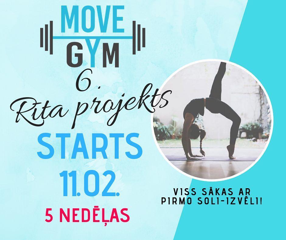 ❗️ Move Gym 6.rīta projekts ❗️