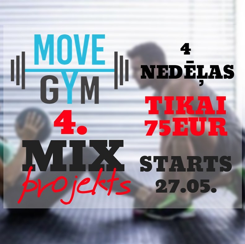 ❗️ MOVE GYM 4.MIX projekts ❗️