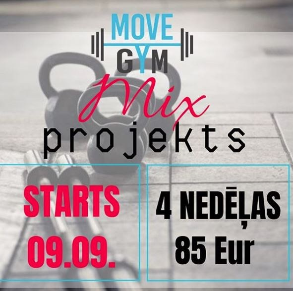 MOVE GYM 6. MIX projekts